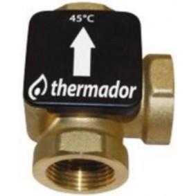 "Vanne Thermique TERMOVAR 45° - 1"""