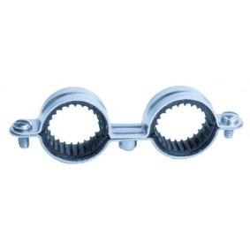 Collier double Isophonique diam.10 (B50)