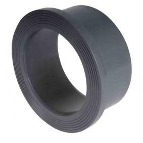 Collet strié à coller PVC DN150 - 160 mm