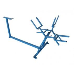 Dérouleur 2 rouleaux bleu pour tubes multicouches 16 à 26 OVENTROP