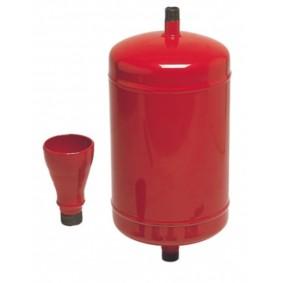 Bouteille d'injection Nu 12 litres - sans vanne ni té- avec entonnoir.