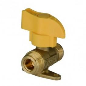 Vanne 1/4 tour hte pression Gaz - M20x150