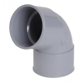 "Coude PVC NF ""Nicoll"" 67°30 FF diam.32"