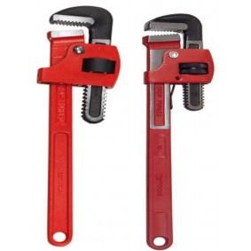 """Lot de 2 clés serre-tubes Stillson 14"""" & 18"""" - KS TOOLS"""