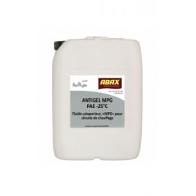 Antigel MPG PEA -25°C Chauffage - Sanitaire - Bidon 20 Kg.