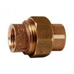 Union 3 pces bronze FF 3/4""