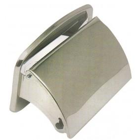 Porte-papier hyg. acier inox.