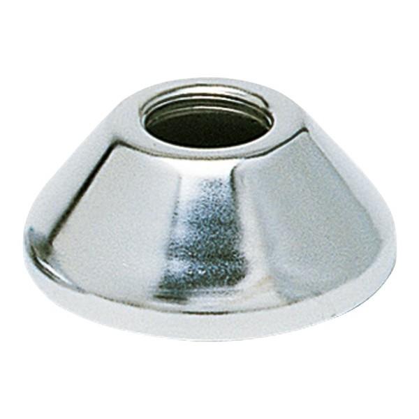 Rosace conique chrom 1 2 hauteur 25 mm mm mutec france - Rosace pour mitigeur douche ...