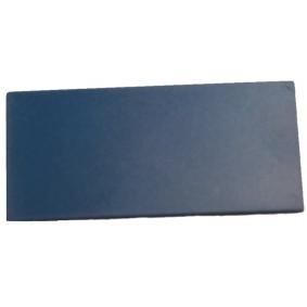 Plaquette simple Bleue