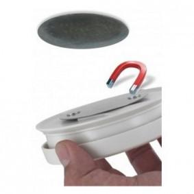 Support magnétique pour Détecteur de Fumée - Schwabe