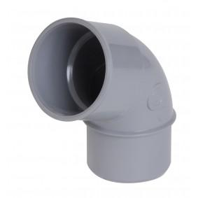 """Coude PVC NF """"Nicoll"""" 67°30 MF diam.32"""