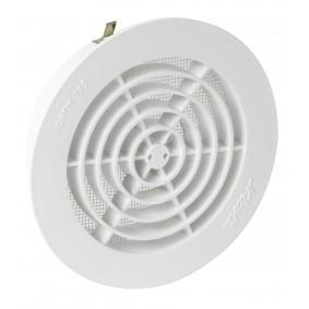 """Grilles d'aération Intérieures pour tubes PVC diam.125 - """"Nicoll"""""""