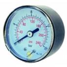 """Manomètre Sec Axial diam.50 mm 0 à 6 bar 1/4"""""""