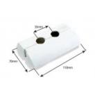Rosace double réglable COMAP de 10 à 18 mm