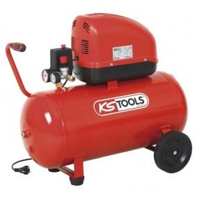 Compresseur coaxial à air sec 50 litres - KS TOOLS
