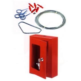 Coffret pour vanne Police 165x155x60 mm avec accéssoires