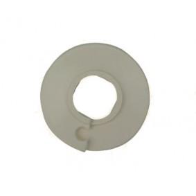 Rosace plastique d. 10 Blanche