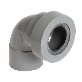 """Coude PVC à joint NF """"Nicoll"""" 87°30 FF diam.40"""