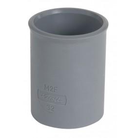 """Manchon PVC NF """"Nicoll"""" FF diam.32"""