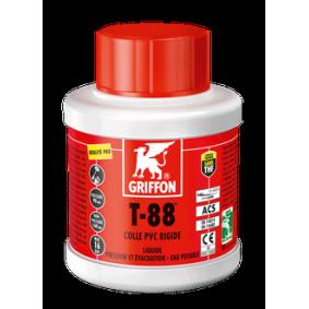 Colle PVC GRIFFON T88 250 ml avec pinceau