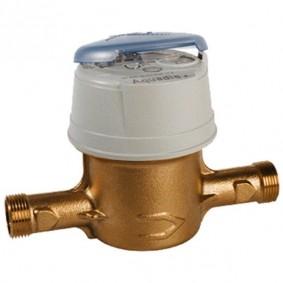 """Compteur d'eau AQUADIS+ Volumétrique DN15 - 3/4"""" x 110 mm Froid - classe C toutes positions."""