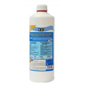 Bidon 1 litre de Déboucheur Professionnel formule acide - GEB