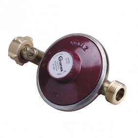 Détendeur Gaz Ménager Butane Ecrou bouteille - M20x150 - 1,3 kg/h - 28 mbar. AS3 M