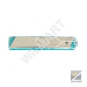 Etui de 10 lames sécables de cutter 18 mm - WILMART