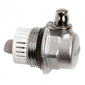 """Purgeur Auto. AERCAL 1"""" droite - Pour radiateur Fonte & fonte d'alu."""