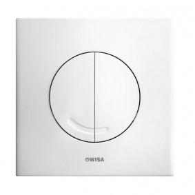 Plaque de commande Argos Blanche pour Réservoir WISA XS Mécanique