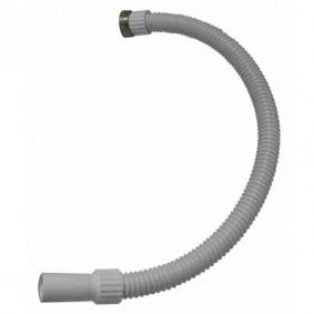 """Tube de vidage souple diam.40 mm ET 1""""1/2 Lg.450 mm"""