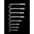 Boite de 8 clé à pipe 6 pans de 8 à 19 mm - BAHCO