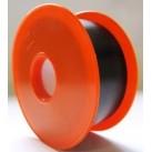 Ruban adhésif PVC 30mm x 25 ml Noir