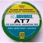 Ruban adhésif PVC 30mm x 25 ml Vert