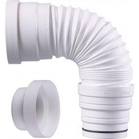 Pipe WC Extensible Souple de 260 à 440 diam.80 à 110