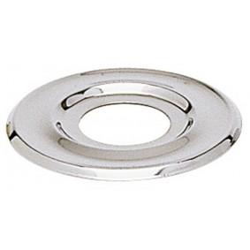 """Rosace plate chromé 1/2"""" diam.55 mm"""