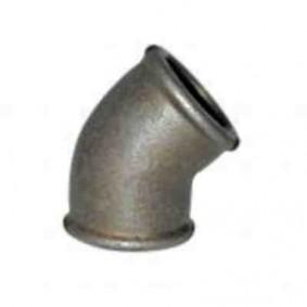 """Courbe Galva 45° FF - 41 diam.2""""1/2"""