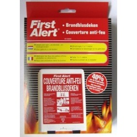 Couverture anti-feu 1.00m x 1.00m - FIRST ALERT
