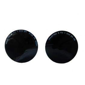 Paire d'oculaire de rechange teinté 5 pour Lunettes-Masques NORIS