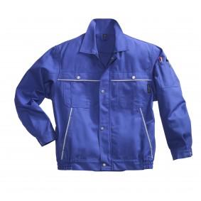 Veste de travail PIONIER Top Coton Image Bleu Royal/Gris Clair Taille 48/50