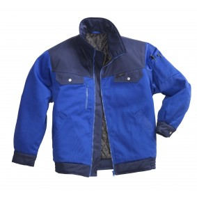 Veste d'hiver PIONIER Active Style Bicolore Royal/Marine Taille L
